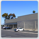 Exterior rendering of commercial building